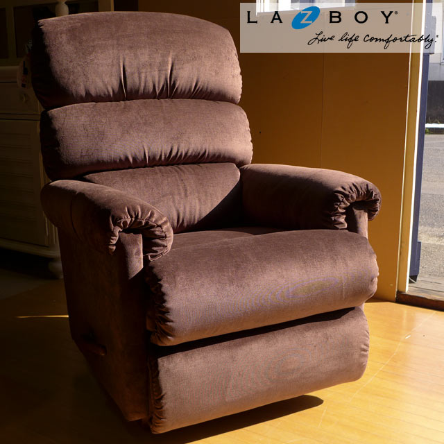 Lazy boy recliner sofa single seat rocking features Western furniture  outlet ERIZABETH GODIVA 505 Rialto LAZBOY lazy boy rocking chair sofa