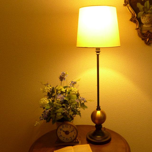 テーブルランプ テーブルライト バフェランプ ランプ ライト テーブル アンティーク アンティーク調 おしゃれ ベッドサイド ベッド 高級 寝室 リビング クラシック テイスト LED シェード シェードランプ スタンドライト 照明 バフェ サイドボード BO-2639BF CAL lighting