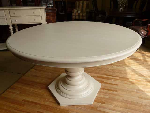 【楽天市場】ダイニングテーブル 丸テーブル 4人掛け 6人掛け 白 ホワイト アイボリー アンティーク アンティーク