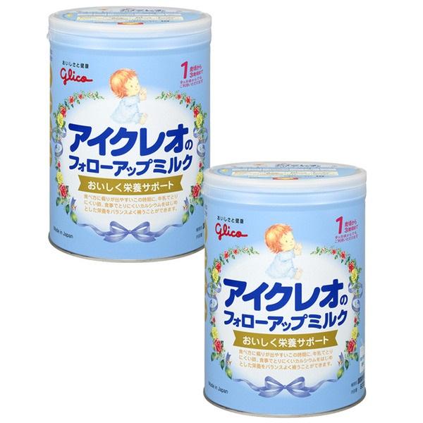 アイクレオのフォローアップミルク アイテム勢ぞろい 品質保証 820g×2缶セット