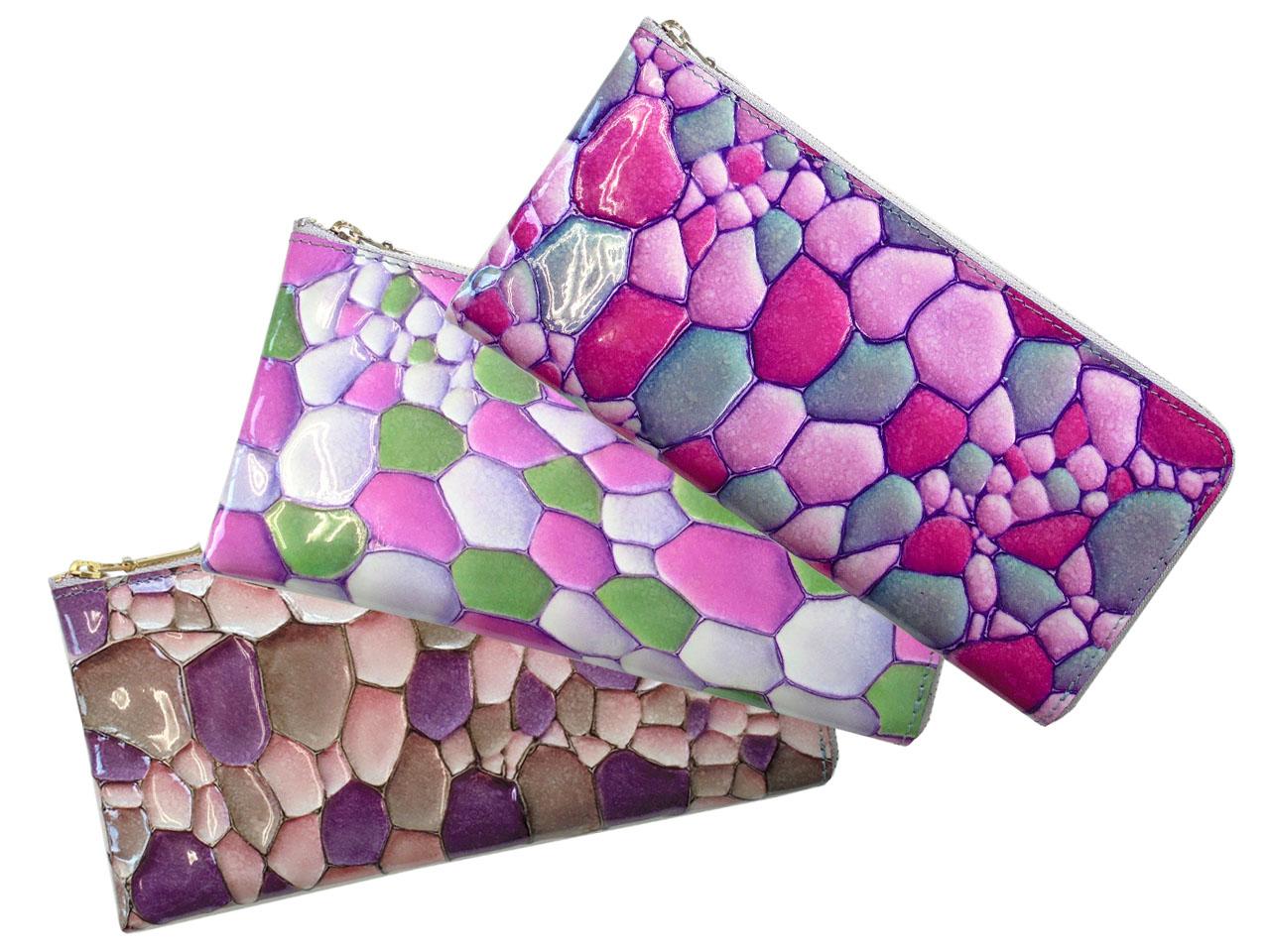 FU-SI FERNALLE BAGILIO wallet collection フーシ フェルナーレ バジーリオ レディ-ス L字ファスナー長財布 03309