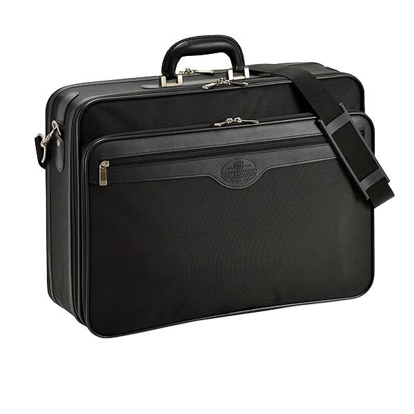 送料無料 ブリーフケース アタッシュケース ソフトアタッシュ 出ポケ メンズ ビジネスバッグ A3ファイル収納 48cm 21217