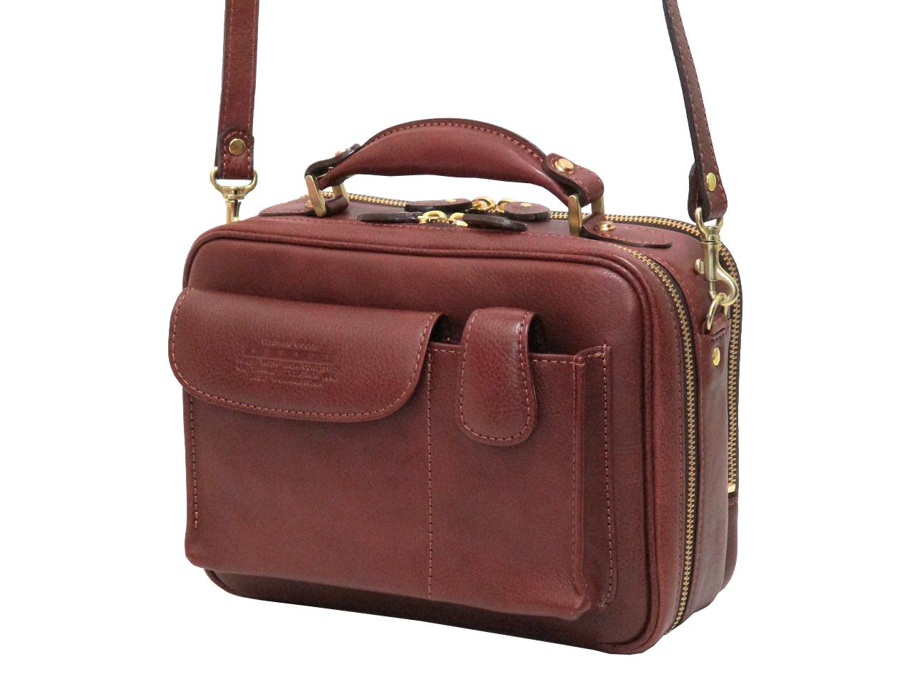 青木鞄 Lugard・NEVADA ラガード・ネバダ メンズ 2WAY 手提げバッグ ショルダーバッグ 5076 MADE IN JAPAN(日本製)