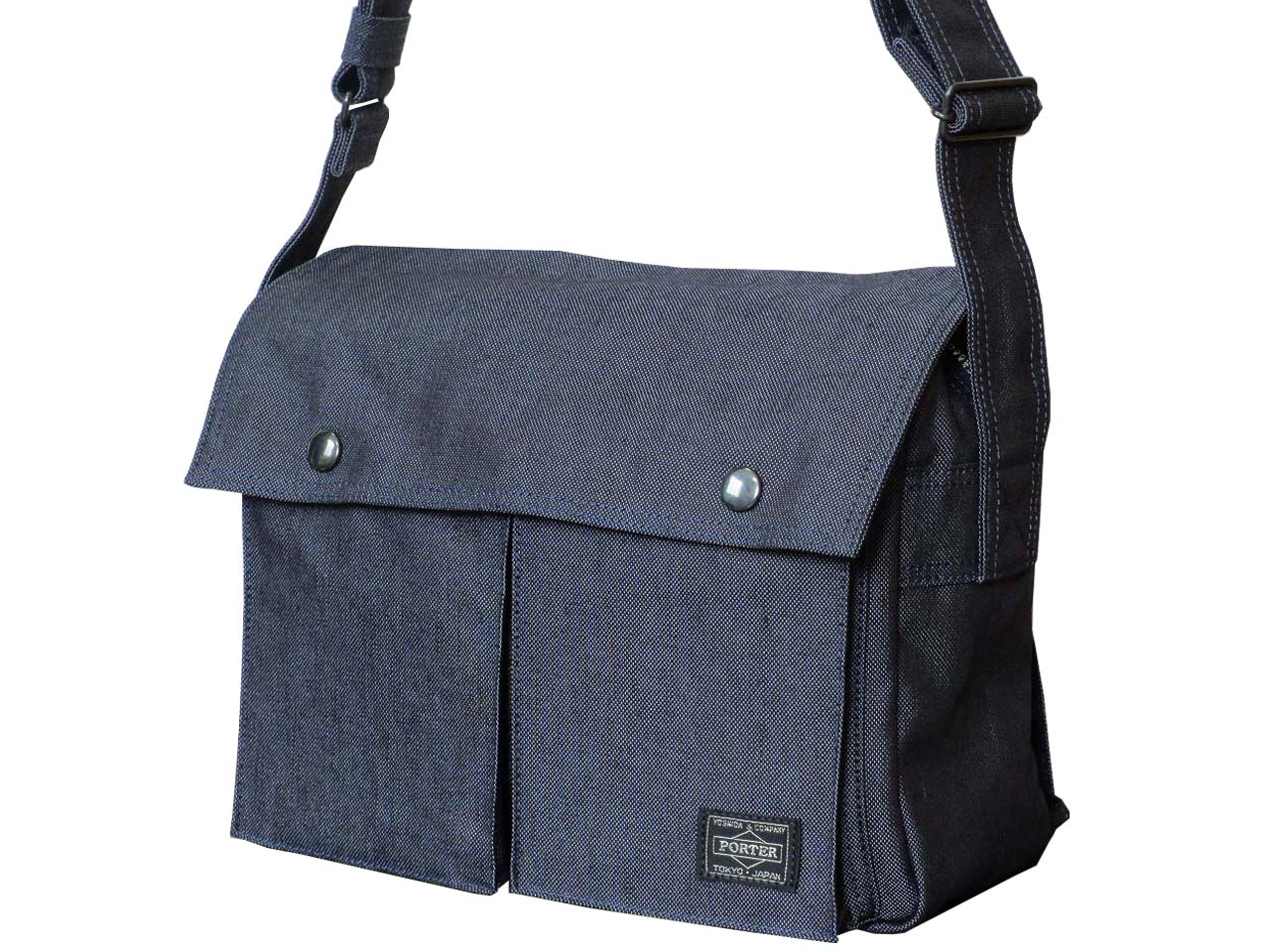 (Only in JAPAN.) 吉田カバン PORTER SMOKY ポータ スモーキー ショルダーバッグ 592-06582 (This product is not for overseas customer.)