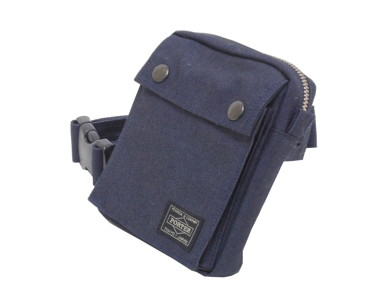 (Only in JAPAN.) 吉田カバン PORTER SMOKY ポーター スモーキー ウエストバッグ 592-07508 (This product is not for overseas customer.)