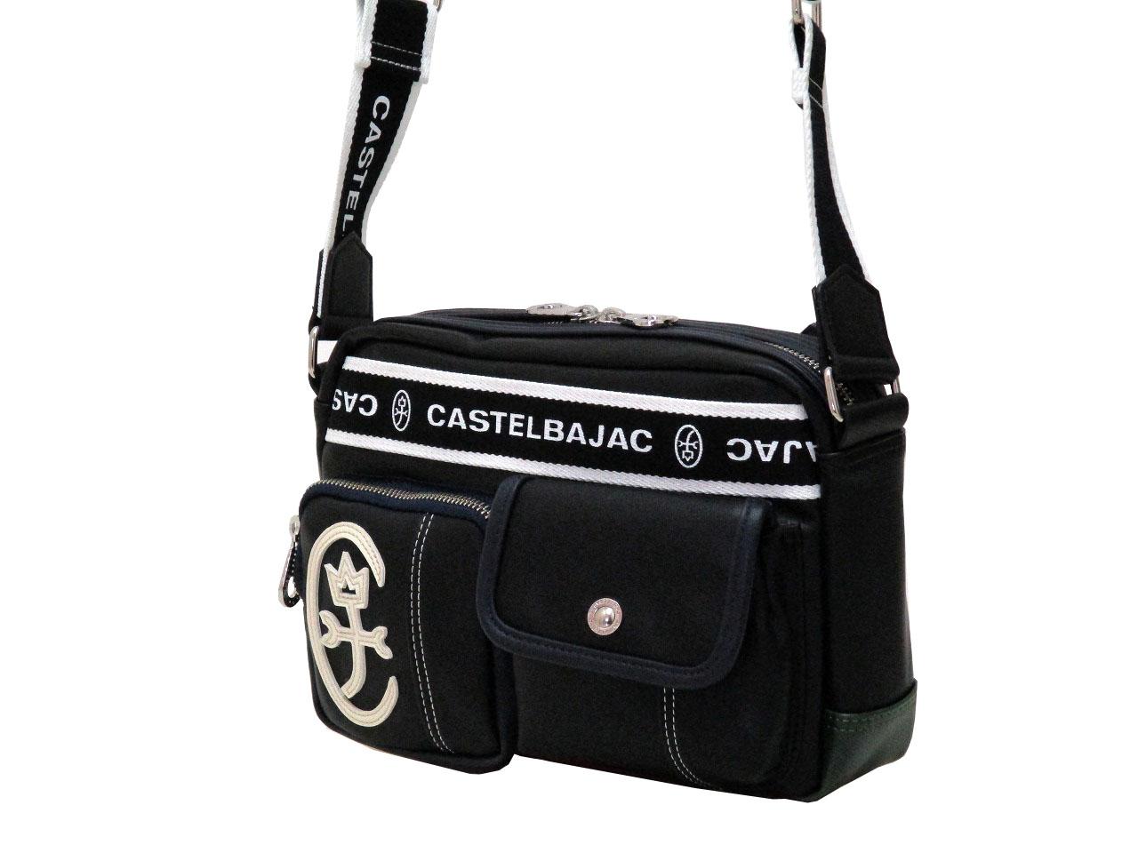CASTELBAJAC カステルバジャック 驚きの値段 ドミネ ショルダーバッグ 横型 おすすめ 024111