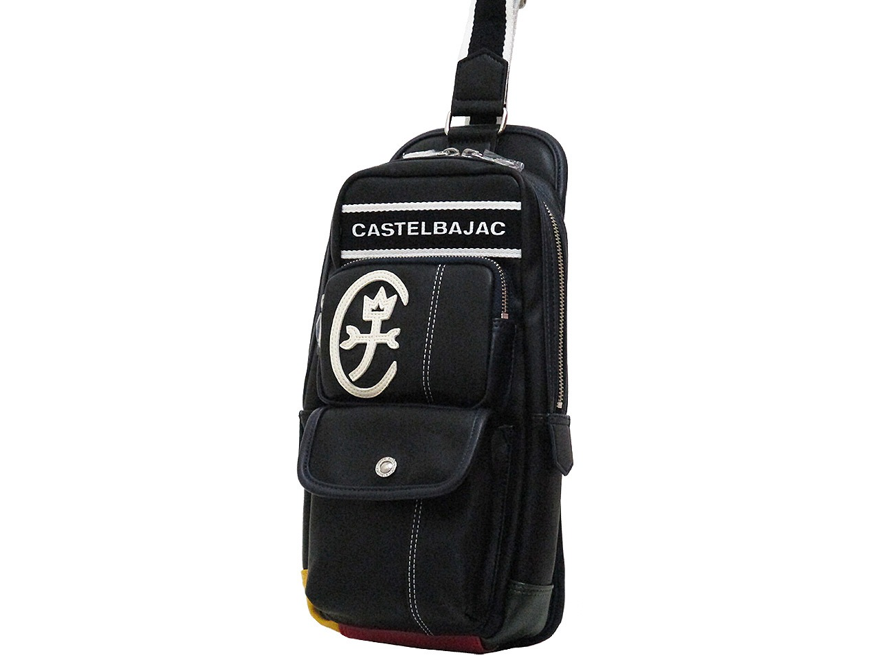 CASTELBAJAC カステルバジャック ドミネ 着後レビューで 送料無料 タイムセール ワンショルダー 024911 ボディバッグ