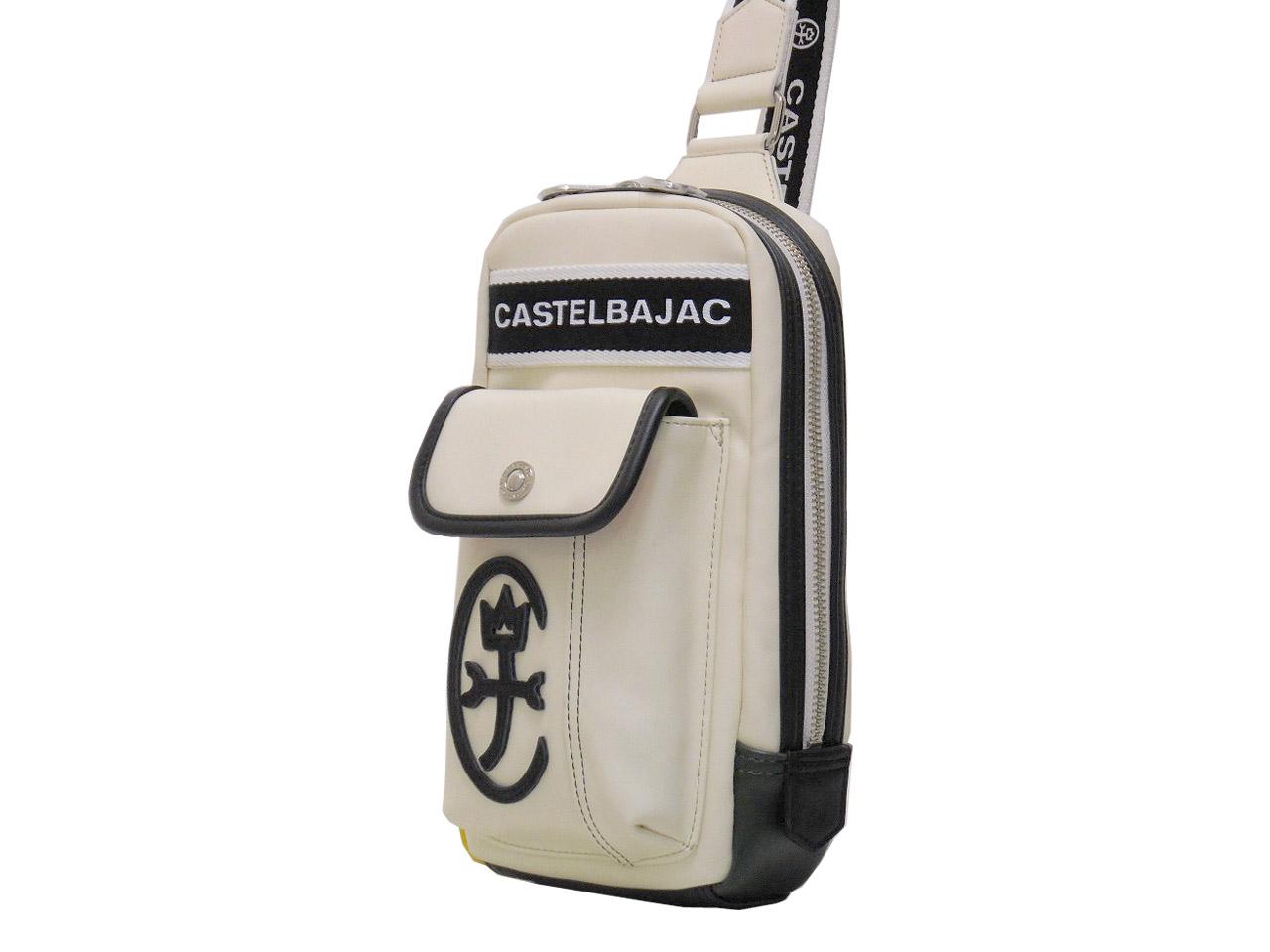 CASTELBAJAC カステルバジャック ドミネ ボディバッグ 送料無料/新品 024912 ついに再販開始 小サイズ ワンショルダー