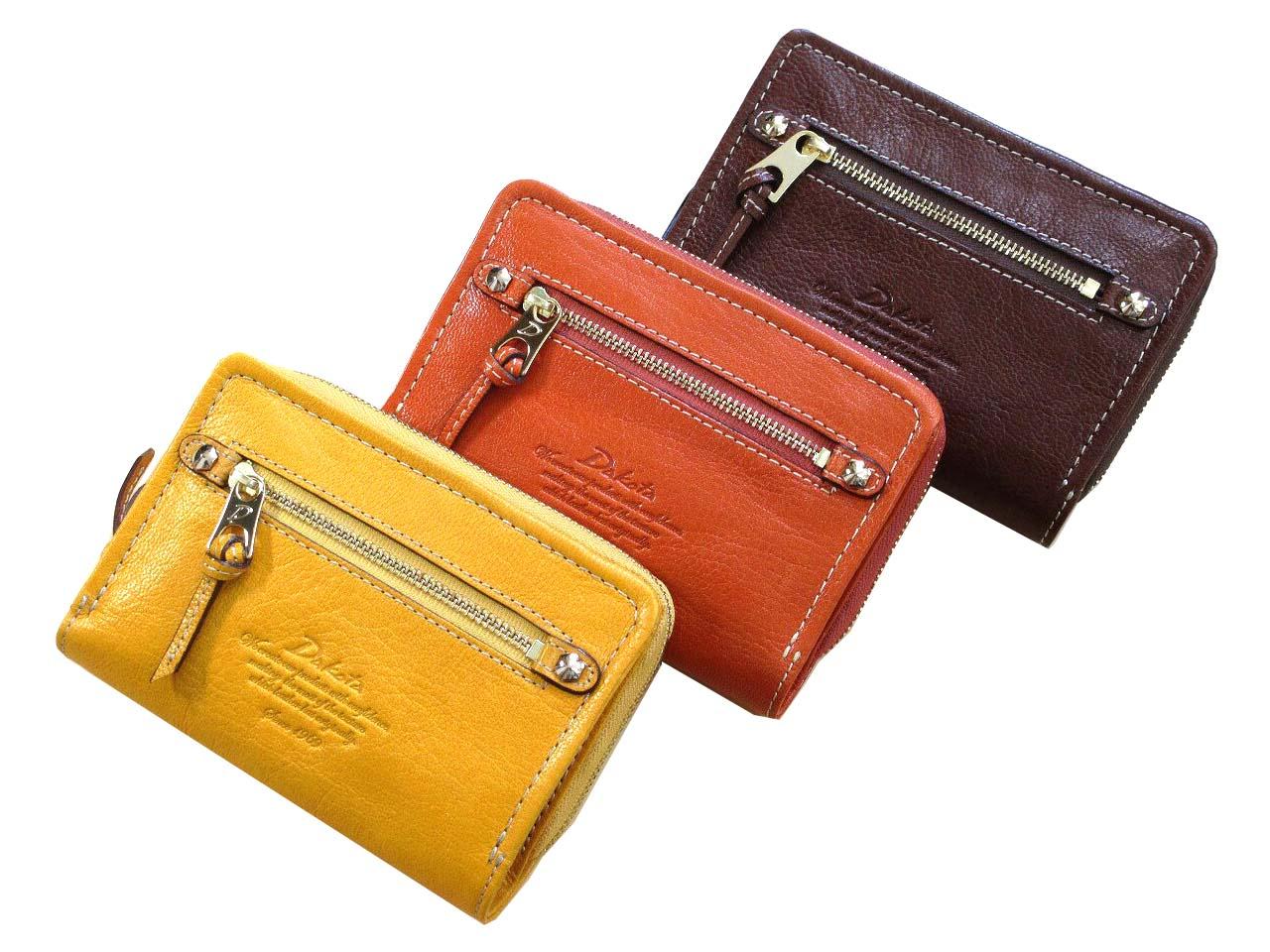 レディース 二つ折り財布(小銭入れあり) Dakota ダコタ モデルノ 0035081