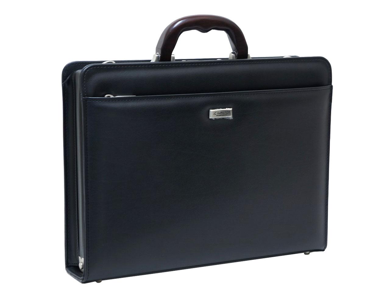 J.C HAMILTON ジェイシー ハミルトン 木手シリーズ A4ファイル対応 大開きダレス ビジネスバッグ 22309