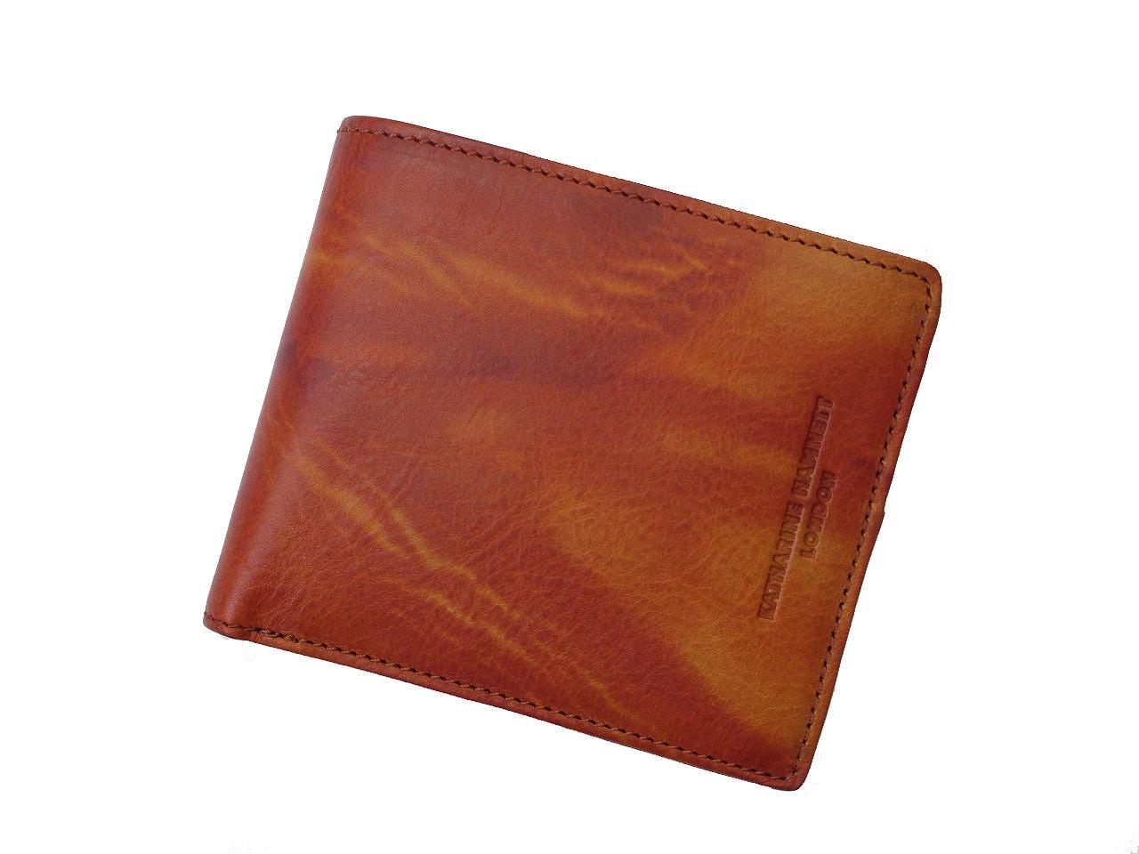 KATHARINE HAMNETT キャサリンハムネット FLUID メンズ 二つ折り財布(小銭入れあり) 59200