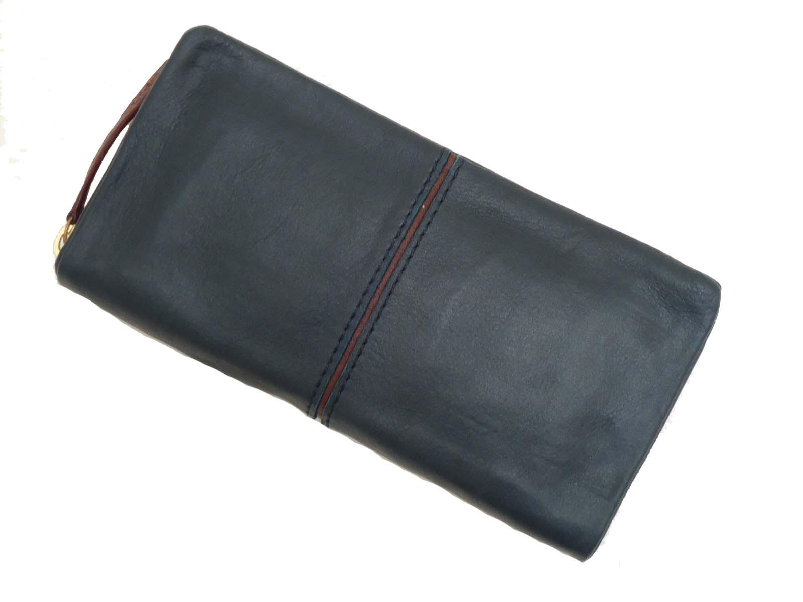 BAGGY PORT バギーポート フルクロームツートン ラウンドファスナー長財布(束入れ) HRD-400