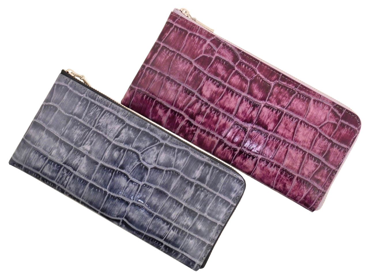 毎日激安特売で 営業中です FU-SI FERNALLE AROMA COCCO wallet collection フェルナーレ 大幅値下げランキング 15527 L字ファスナー長財布 フーシ レディ-ス アロマクロコ