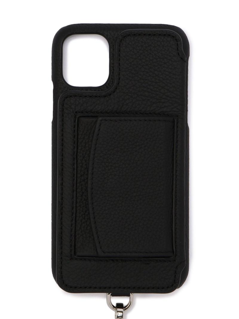 B'2nd 中古 メンズ その他 ビーセカンド Rakuten Fashion iPhone11対応 DEMIURVO BIRTH 背面手帳型スマホケース 送料無料 デミウルーボ ブラック 購入 POCHE ストラップ付