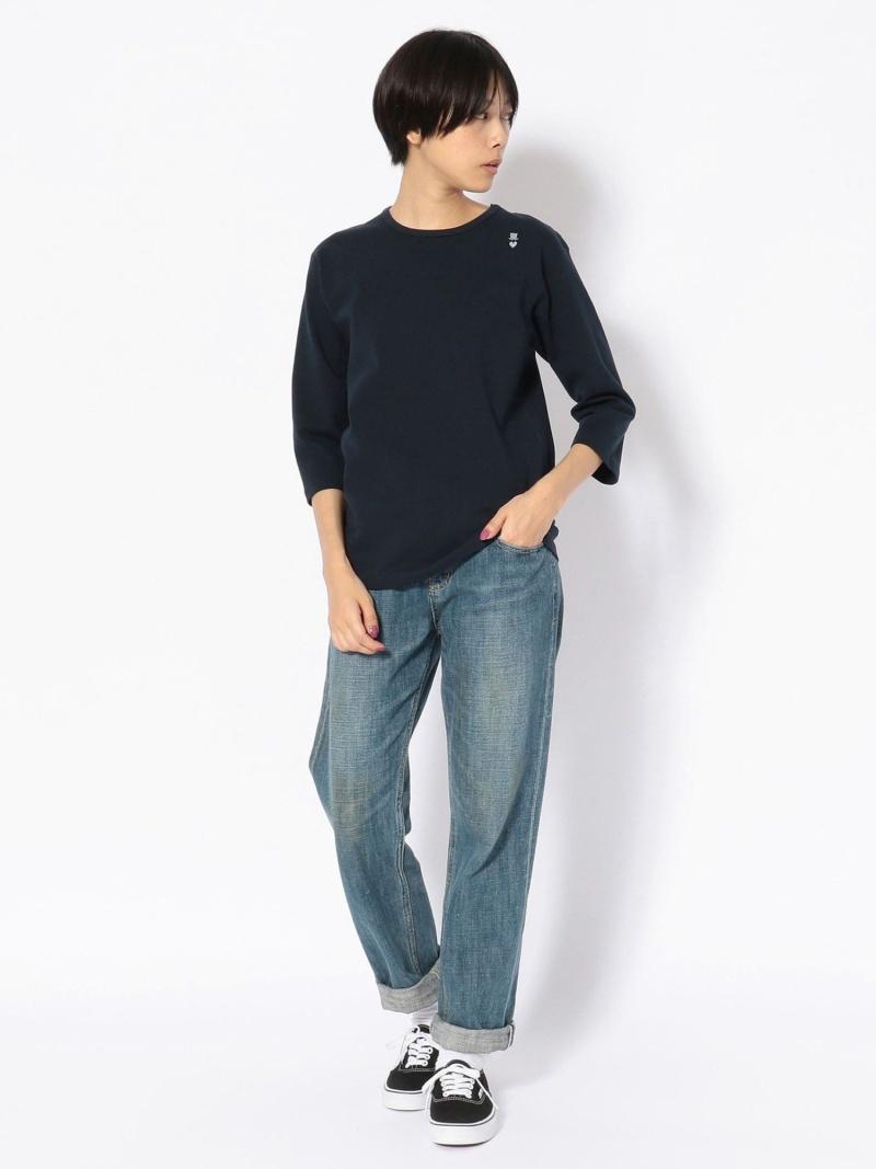 Rakuten Fashion BOHEMIANS ボヘミアンズSPANRIBH ST BEAVER ビーバー カットソー Tシャツ ネイビー ホワイト ベージュ 送料無料yvm80wOnNP