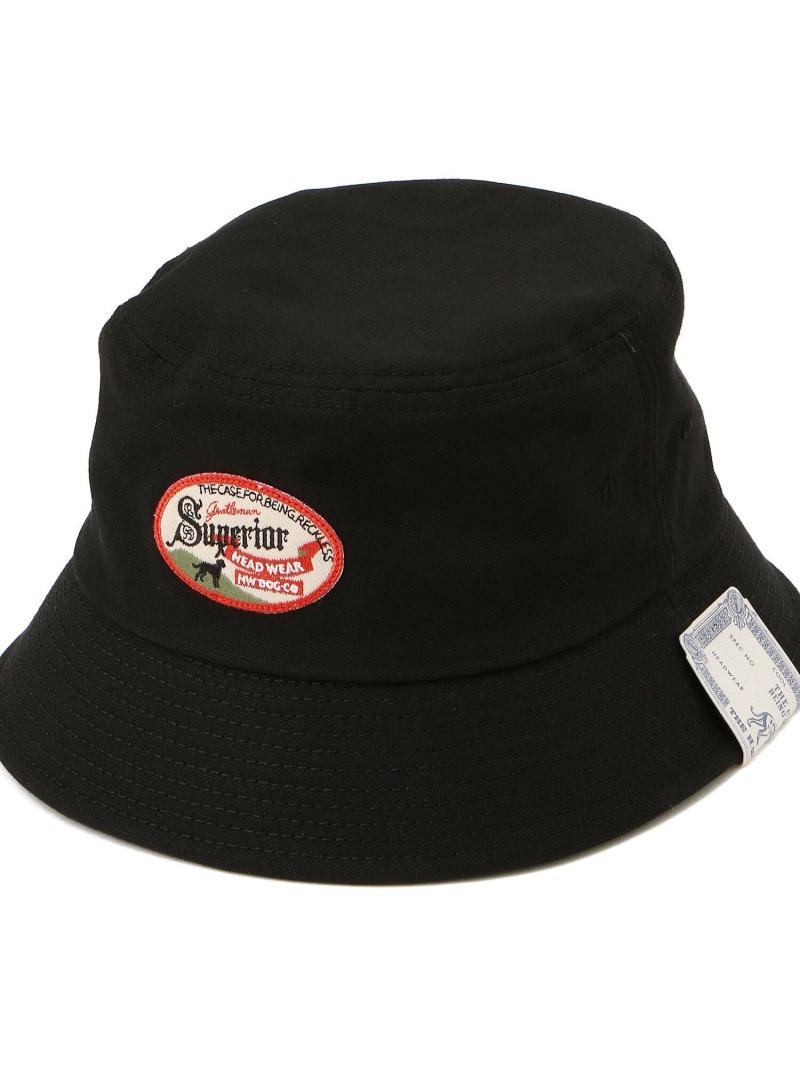 Schott メンズ 帽子 ヘア小物 ショット schott 在庫あり HW DOGCO. OC ブラック Rakuten HAT 送料無料 Fashion ベージュ BUCKET 全品送料無料 帽子その他