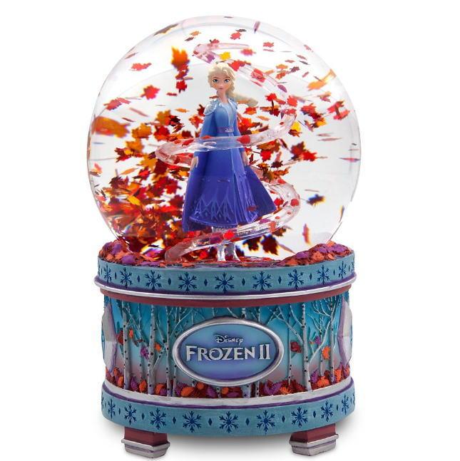 US版 ディズニー アナと雪の女王2 エルサ ミュージカル スノーグローブ(スノードーム サウンド アナ雪)