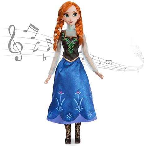 【少々訳あり】US版 ディズニー アナと雪の女王★アナ シンギング ドール