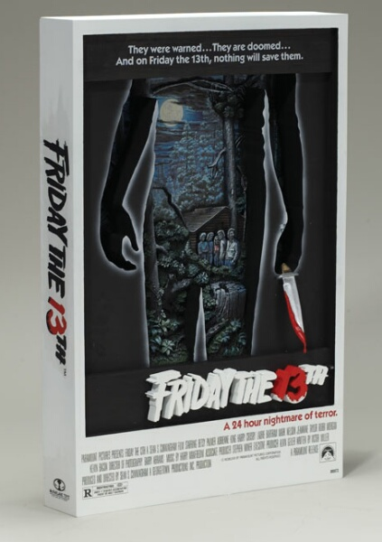 Friday of McFarlane 3-D movie poster ★ 13th