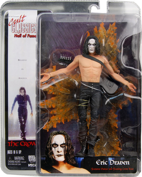 3 NECA HALL OF FAME series ★ THE CROW Eric ドレイヴン ★ US figure skating for US