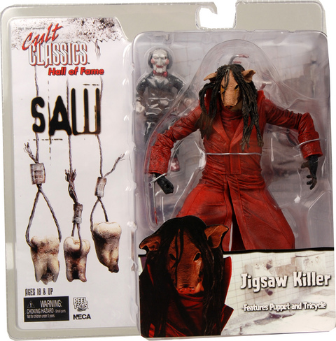 US Edition NECA cult classic ★ SAW 3 Jigsaw Killer (the pig version ★ US figure only