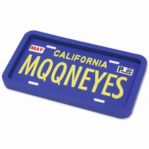 毎日続々入荷 正規取扱店 MOONEYES カリフォルニア ライセンス プレート 小物入れ ラバートレイ ラバーコースター