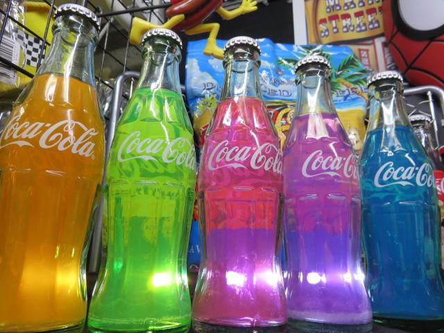 【お取り寄せ】 【コカコーラ】【コカコーラグッズ】【COKE】【ハンドメイド】 アメリカーンスタイル!【コカコーラボトル】【カラーボトル】【5本セット】, 西海町 c3ccb668