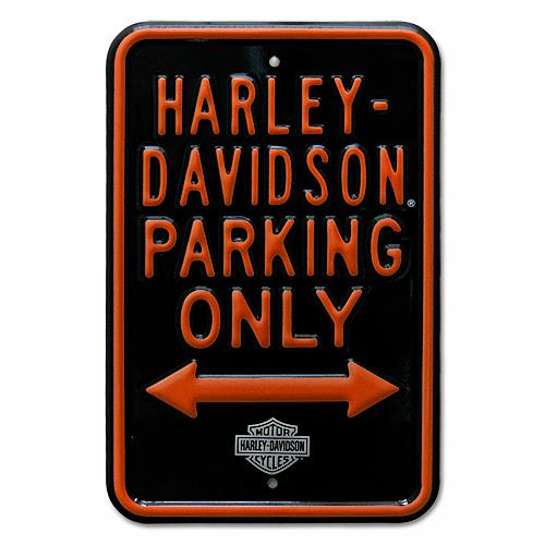 与え お洒落 Import items エンボスサイン スチールサイン ハーレー BOY パーキングサイン ガレージグッズ FAT HARLEY-DAVIDSON