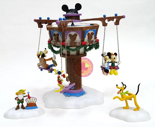 Swinging Disney Feb Five(ディズニー回転ブランコ)/Department56【カード分割】