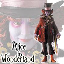 マッドハッター(ジョニーデップ)RAHリアルアクションヒーローフィギュア/不思議の国のアリスAlice in Wonderland