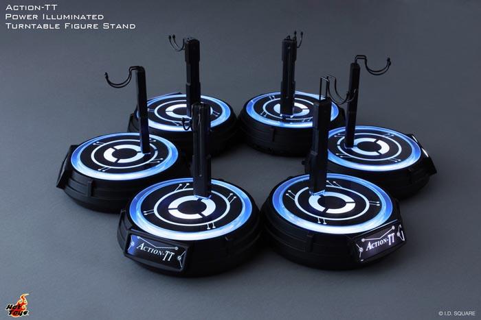 供熱的玩具/1/6規模花式滑水使用的枱燈行動TT轉盤·顯示屏枱燈(有點燈)注釋:模型不附屬