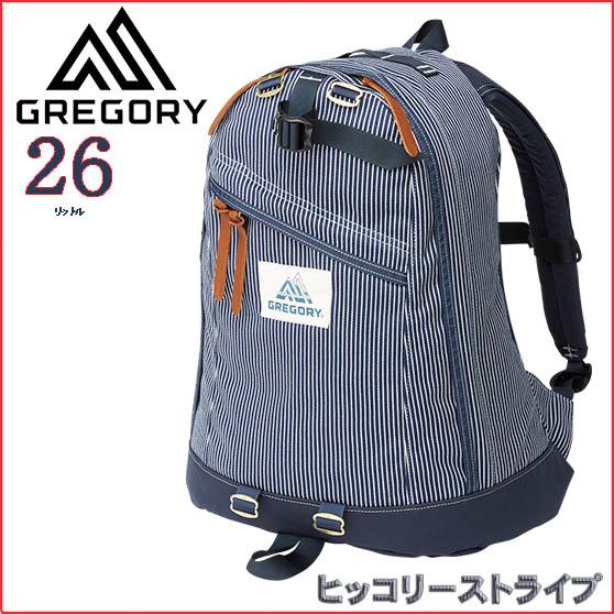 グレゴリー リュック 【26L】デイパック 【ヒッコリーストライプ】GREGORY【2019SS】【通勤通学】【バッグ】【登山】【キャンプ】【バックパック】【リュック】