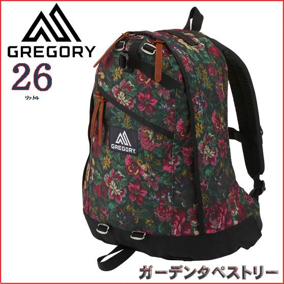 グレゴリー リュック 【26L】デイパック 【ガーデンタペストリー】GREGORY【2019SS】【通勤通学】【バッグ】【登山】【キャンプ】【バックパック】【リュック】