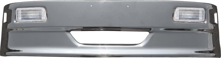 ハイブリッドバンパー軽トラック用LEDフォグランプ付 H330