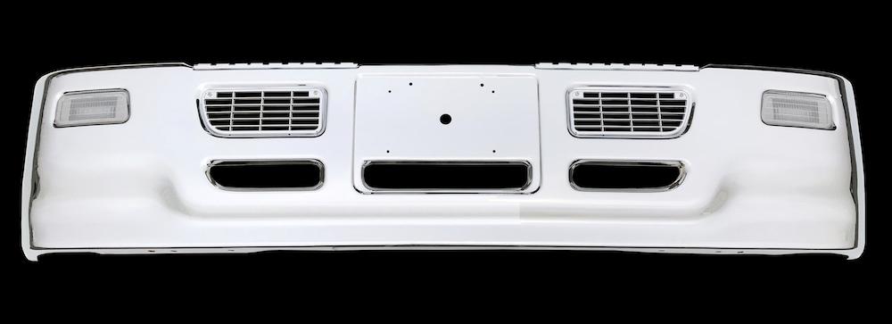 プロフィアタイプバンパー大型H480クリアフォグランプ仕様