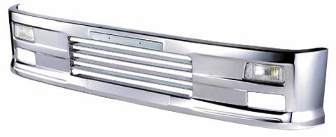 アイマックスバンパー 4t標準用(ルーバー) H400 幅2,160
