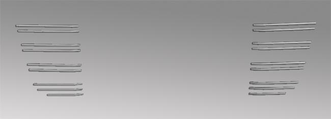 GIGA(H22.5~H27.10)バンパー用ビレットグリル(バンパー)