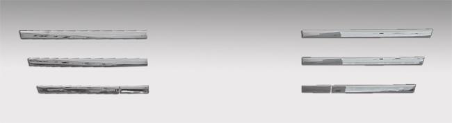 GIGA(H22.5~H27.10)バンパー用バンパーグリルモール