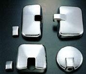 いすゞ 320/NEWフォワード増トン車 標準/ワイド車用メッキミラーカバーセット