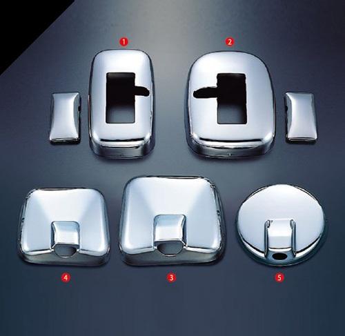 日野 エアループプロフィア(H22.7~)ミラーカバー5点セットヒーター付き電動リモコンミラー車