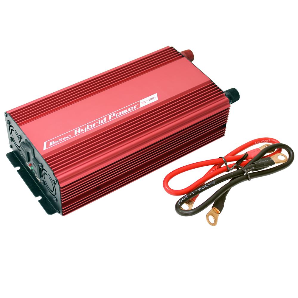 DC/AC USB&コンセント サイレントインバーター SIV-1001 800W 24V