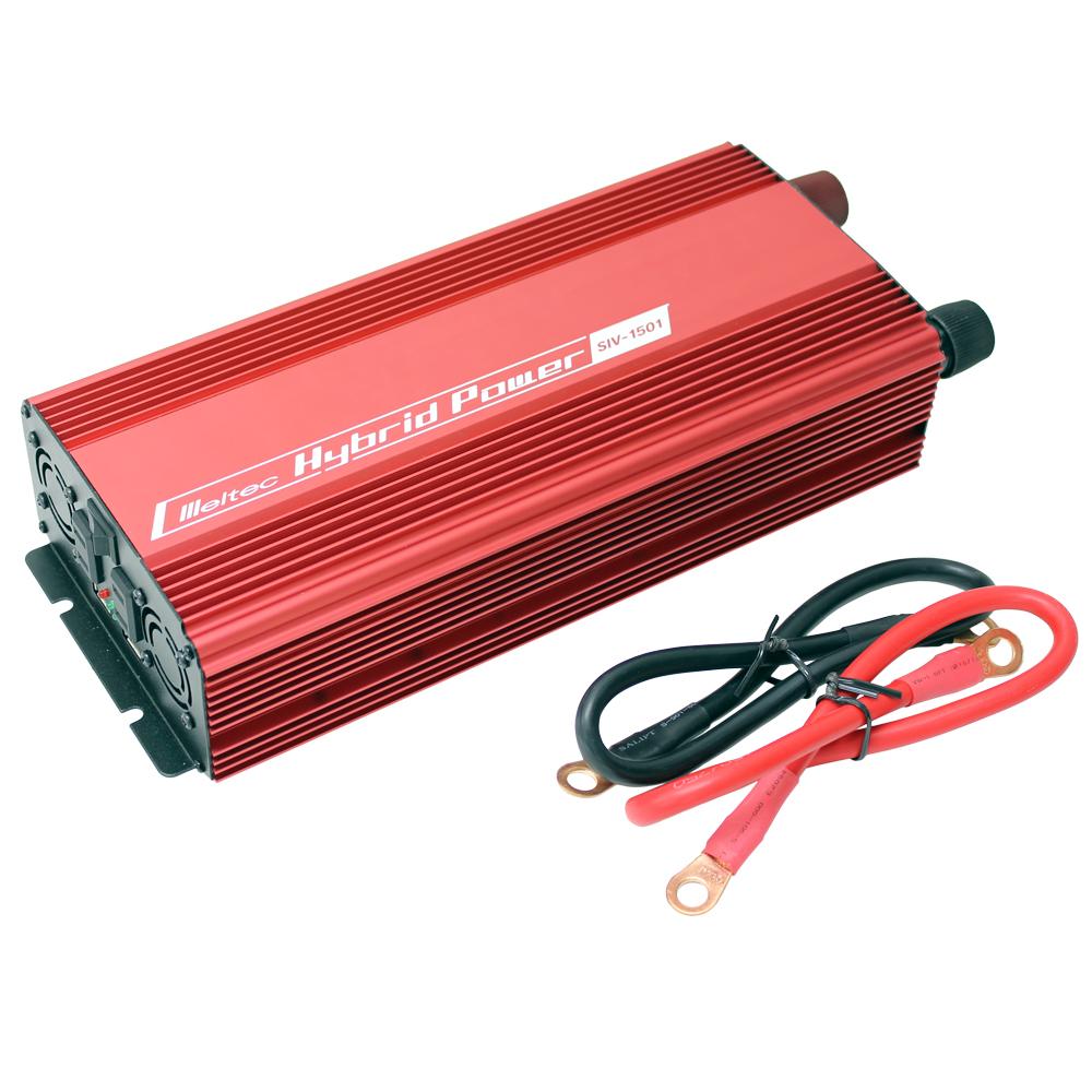 DC/AC USB&コンセント サイレントインバーター SIV-1501 1400W 24V