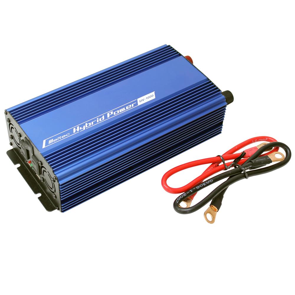 DC/AC USB&コンセント サイレントインバーター SIV-1000 800W 12V