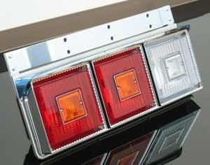 JB角06三連テール 【車検対応型】 赤/赤/白   ★左右セット