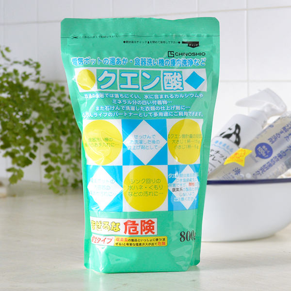 Place Salt Citric Acid 800 G Toilet Cleaning Bathroom Yellowed Preventing Vacuum Cleaner