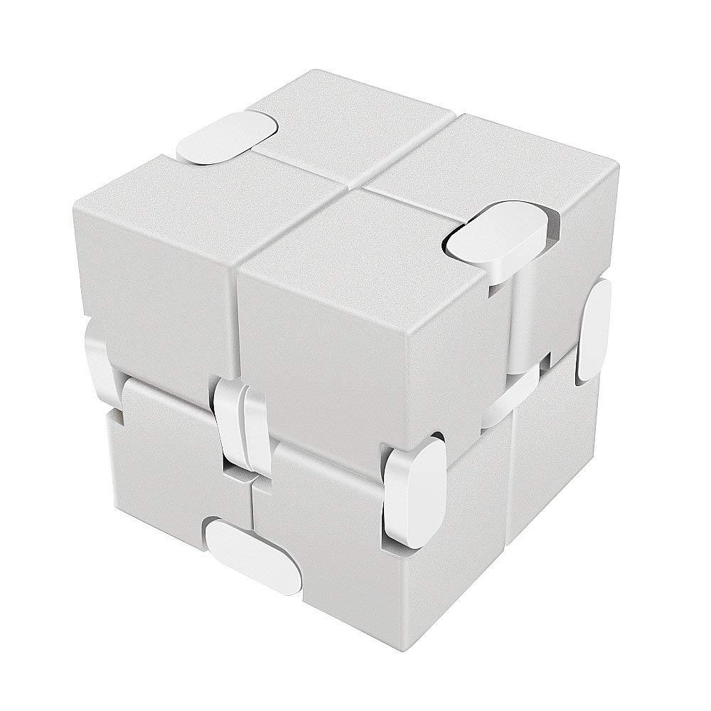無限に動かせる暇つぶし立体パズル LilBit インフィニティキューブ 無限キューブ アルミニウム合金 待望 フィジェットキューブ まとめ買い特価