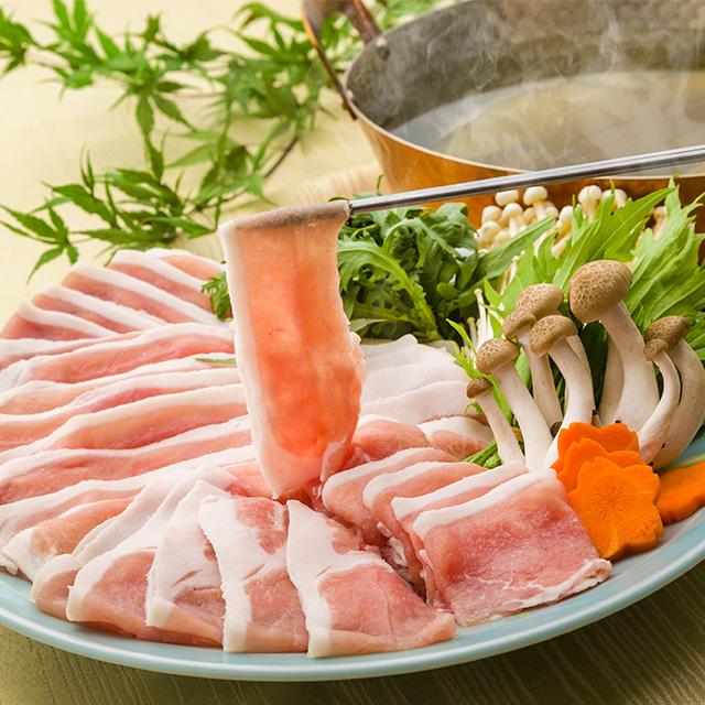 SPF三元豚の上質なロース肉を使用 送料込 ふくしまプライド 1着でも送料無料 送料無料新品 福島県産SPF三元豚しゃぶしゃぶ用