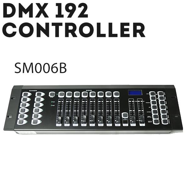 DMX コントローラー sm006b 192CH デジタル LED ディスプレイ ステージ ライト 演出 照明機材 コンサート クラブ カラオケ パーティー