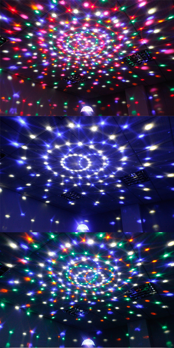 【楽天市場】ミラーボール Ls 62 パーティーライト リモコン付属 Led 舞台 ステージ ライト 演出 照明