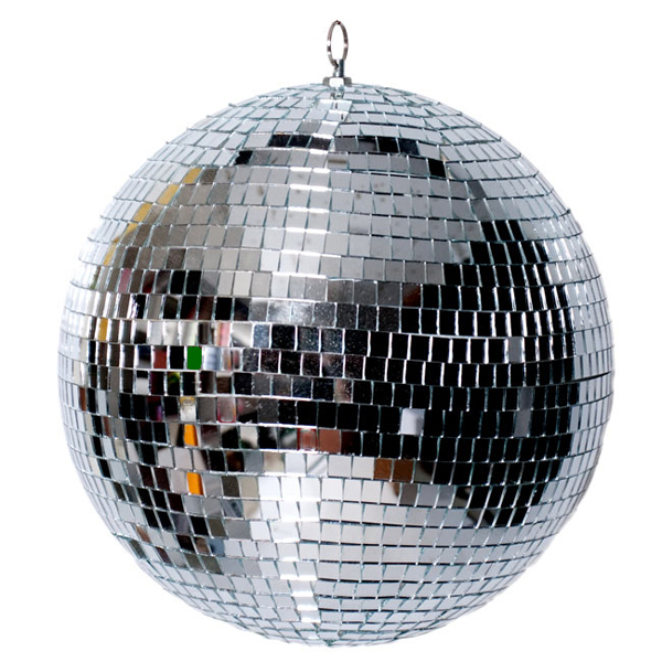 ミラーボール 大型 40cm 回転モーター付属 舞台 レトロ 演出 照明 機材 コンサート クラブ カラオケ パーティー